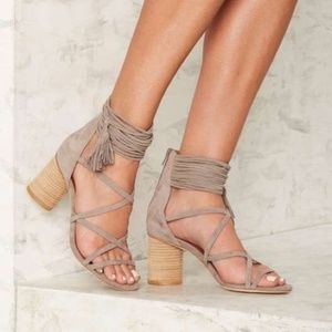 Jeffrey Campbell Despina Strappy Sandals Size 6